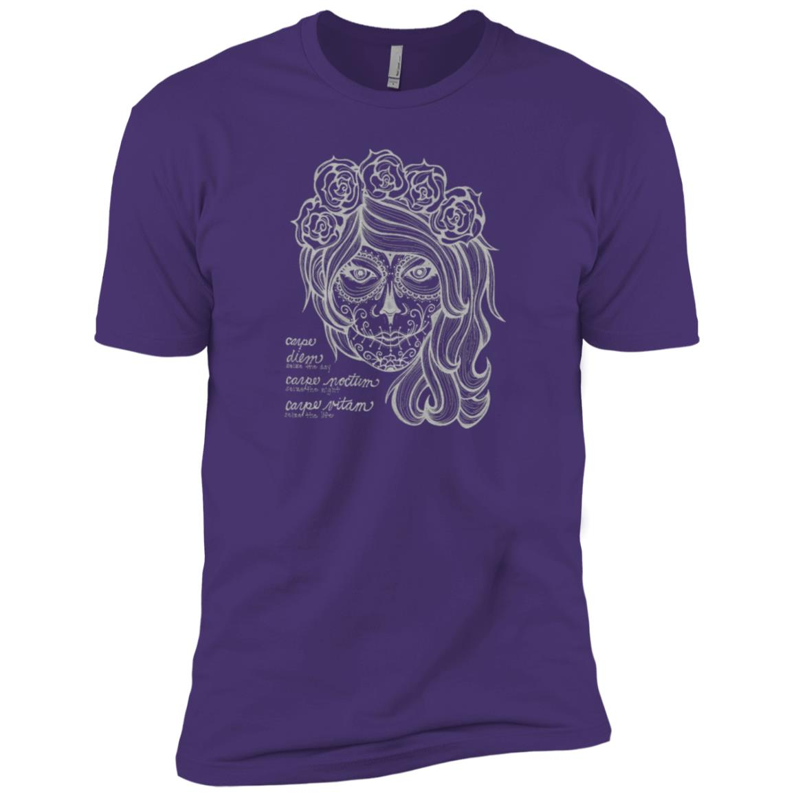 The Creative Catalyst La Muerte Carpe Diem Shir Men Short Sleeve T-Shirt