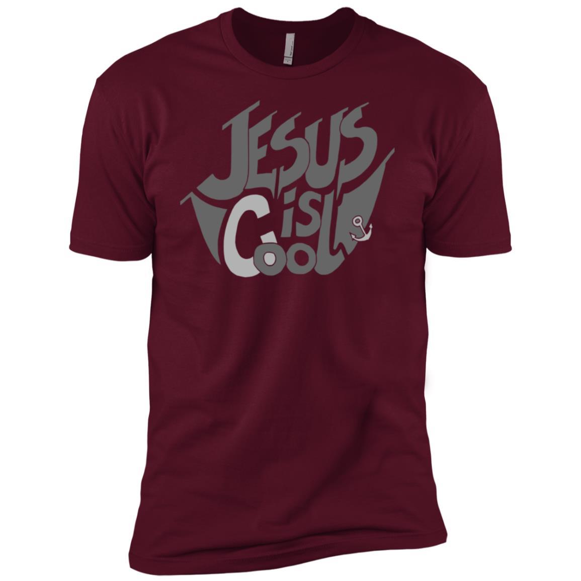Jesus is Cool – Christian Design Women, Men, Kids Men Short Sleeve T-Shirt