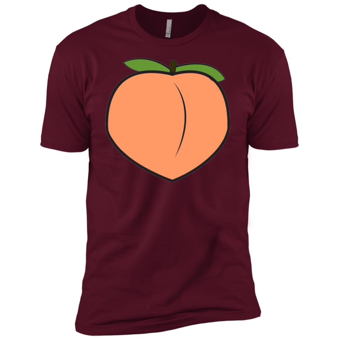 top jumper cotton peach drawing for womenmen Men Short Sleeve T-Shirt