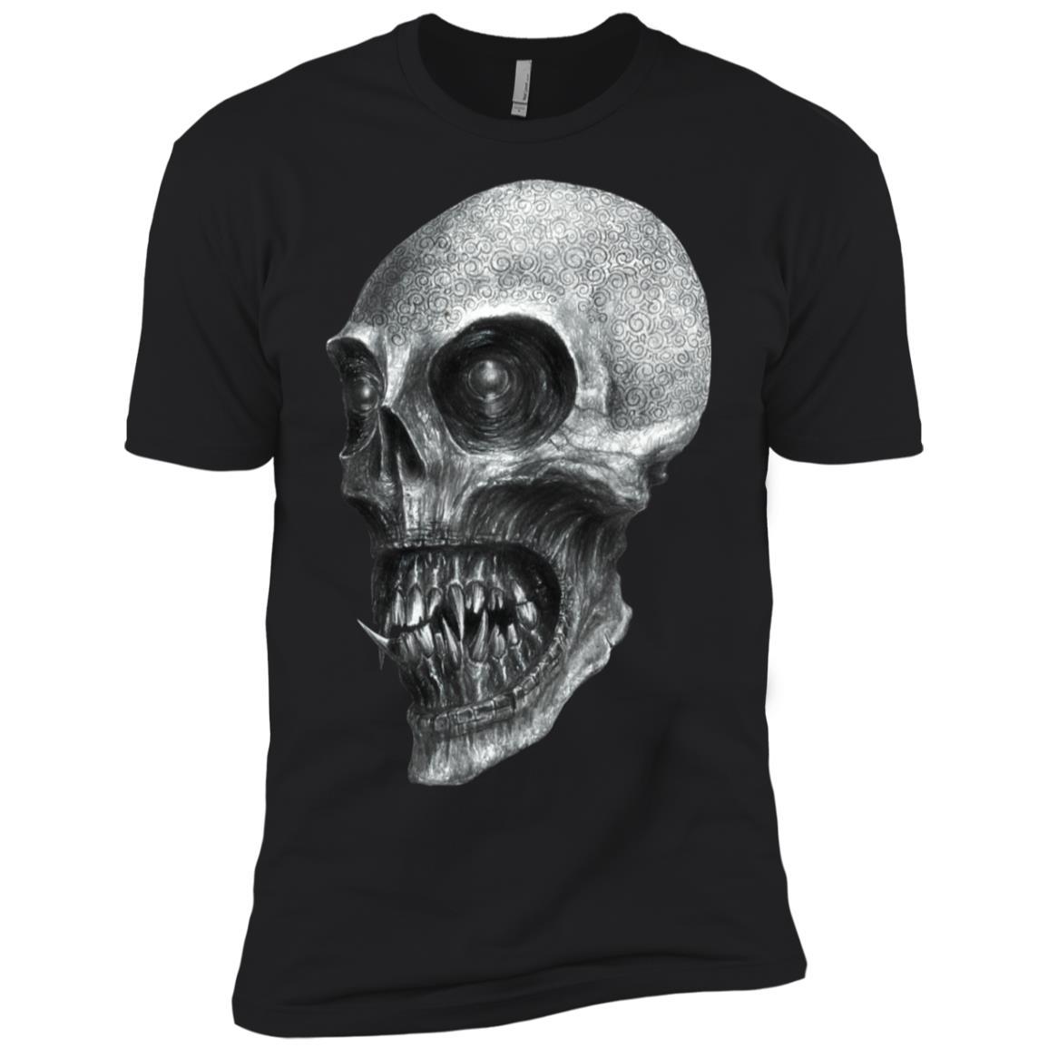 Heavy Metal Goth Skull Dark Art Demon Men Short Sleeve T-Shirt