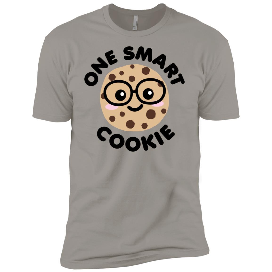 One Smart Cookie Cute Kawaii Nerd Humor Men Short Sleeve T-Shirt
