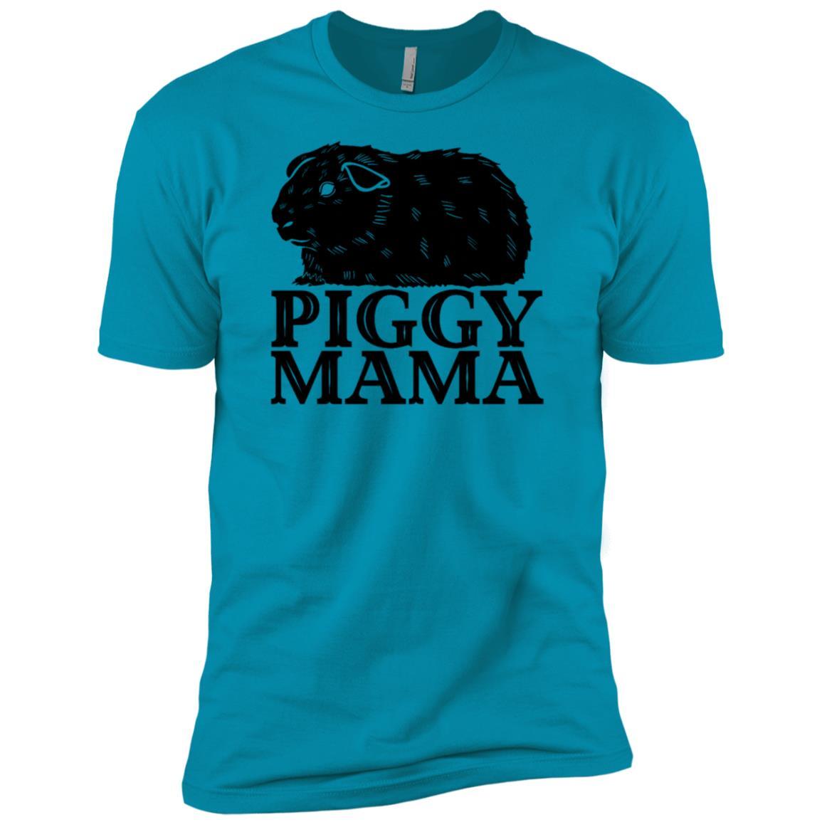 Guinea Pig Piggy Mama Cavy Pet Owners Love Men Short Sleeve T-Shirt
