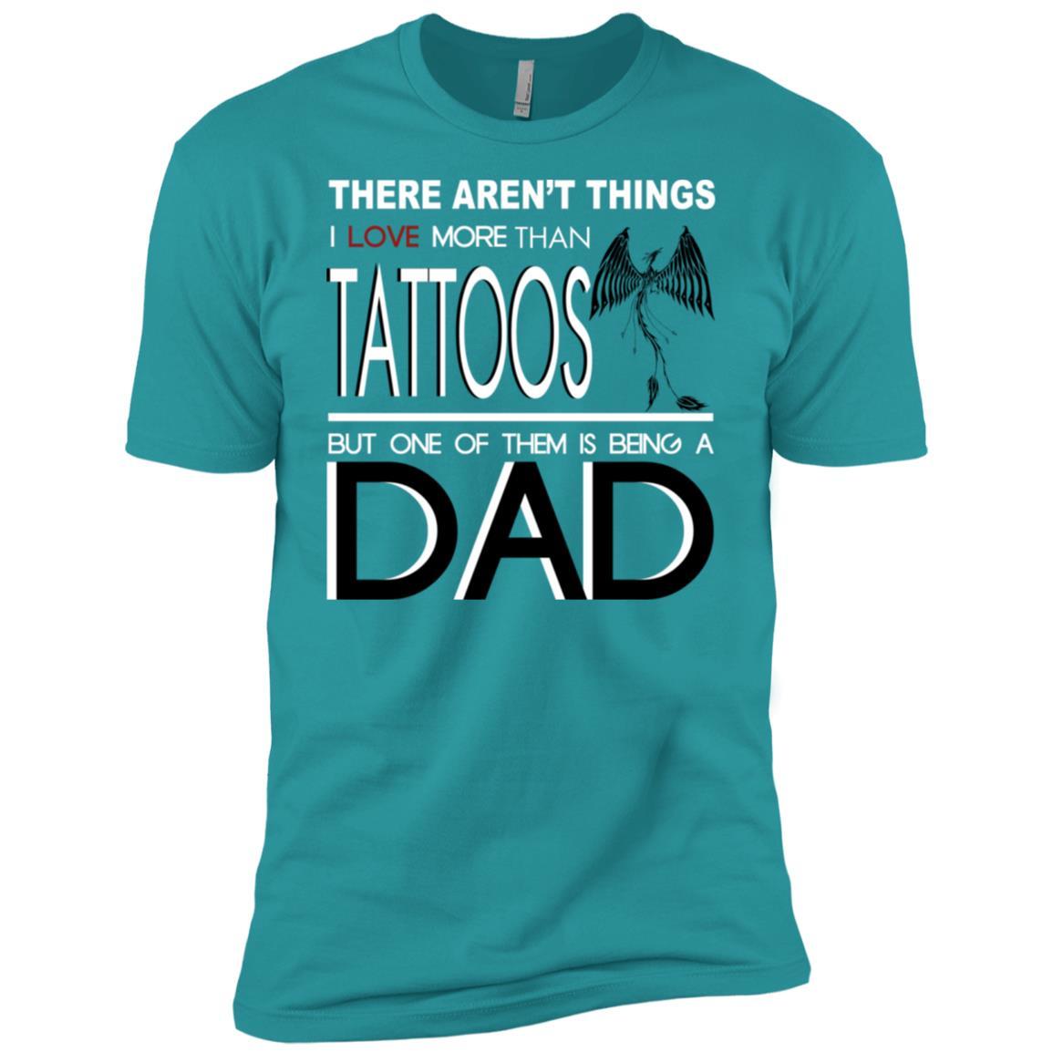 Cool Tattooed-Dad Cool Tattoo Dad Gift Men Short Sleeve T-Shirt