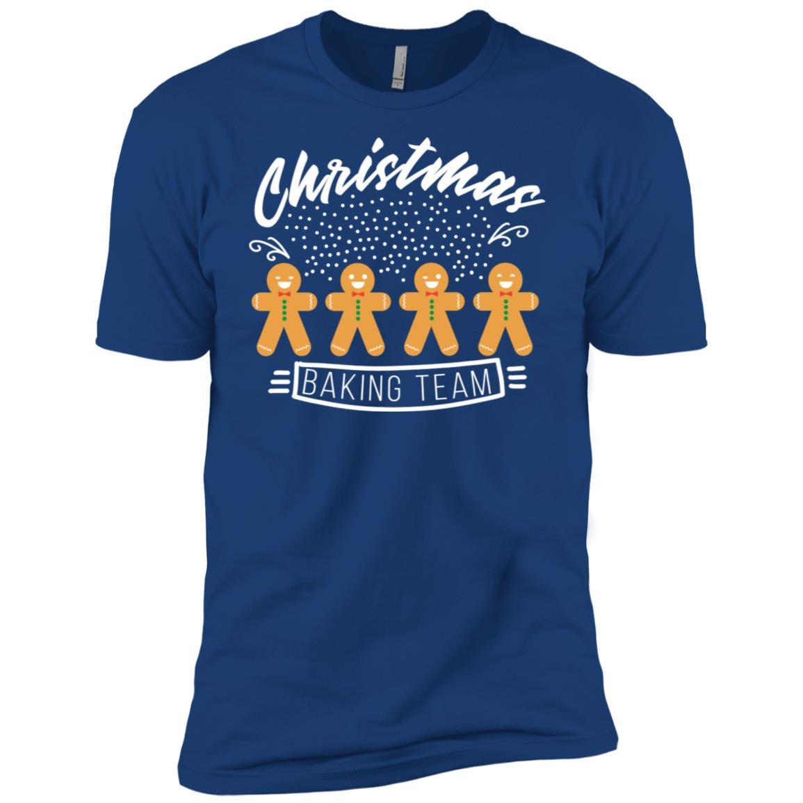 Christmas Baking Team Bakers Gingerbread Long Men Short Sleeve T-Shirt