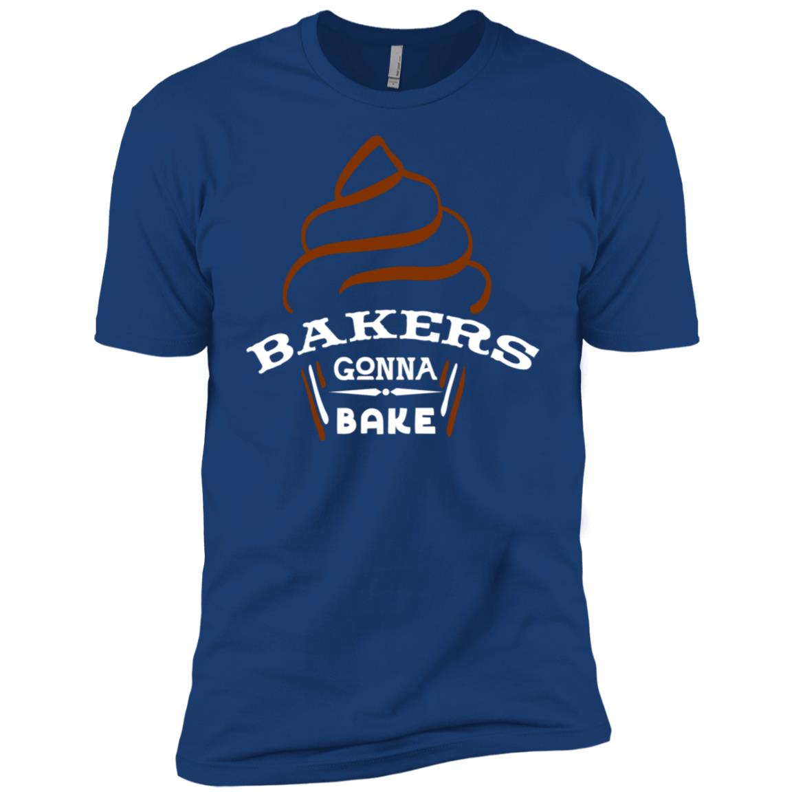 Bakers Gonna Bake Men Short Sleeve T-Shirt
