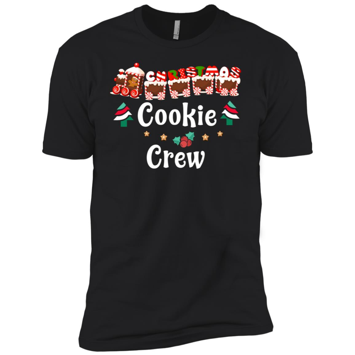 Christmas Baking Team Cookie Crew Bakers Tee Men Short Sleeve T-Shirt