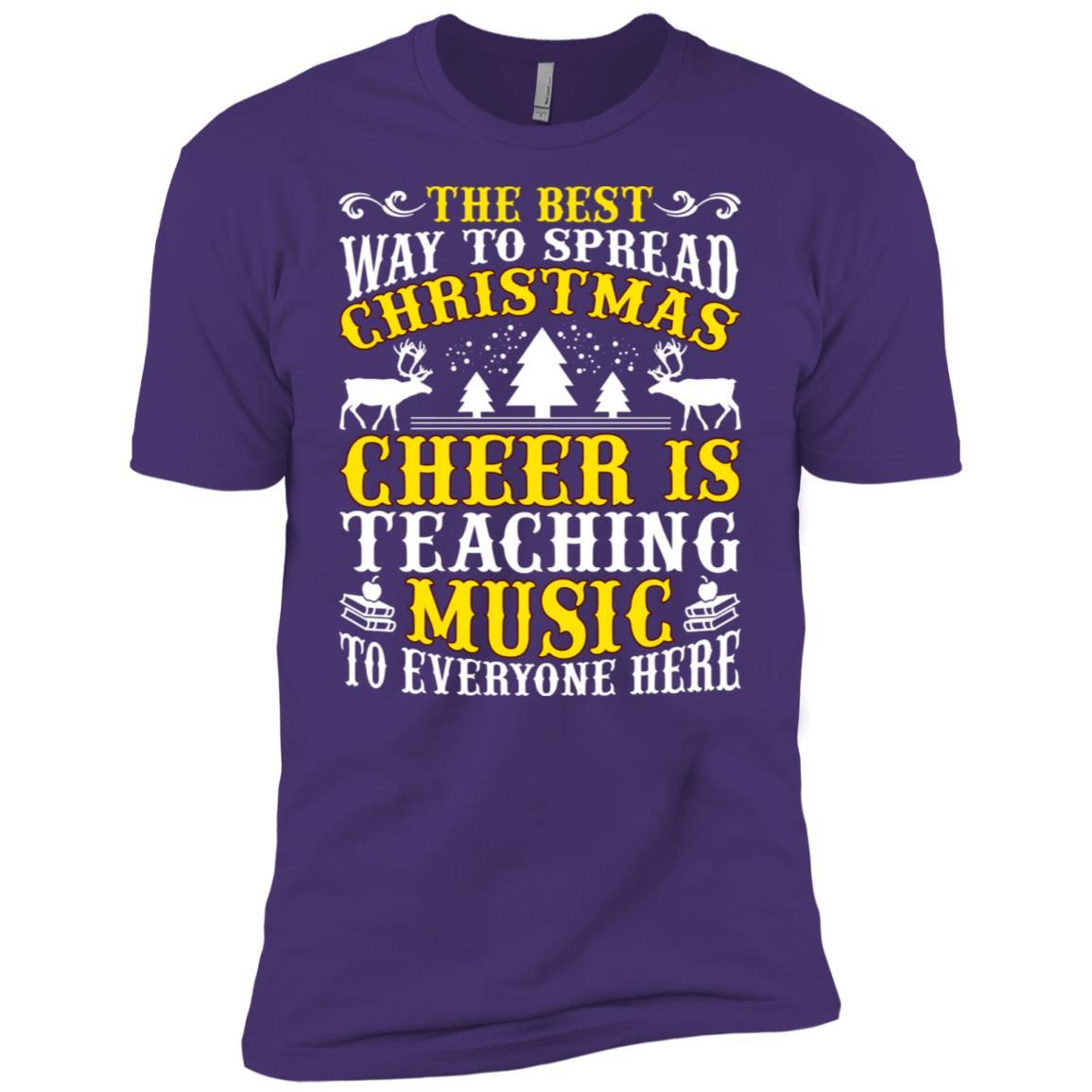 Cheer Teaching Music Men Short Sleeve T-Shirt