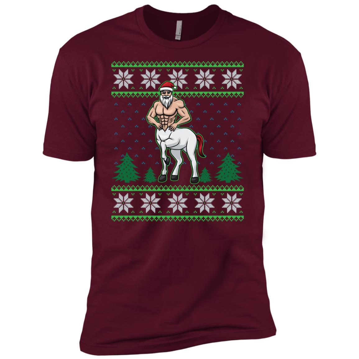 Centau Half Man Half Horse Greek Mythology Christmas Sleeve Men Short Sleeve T-Shirt