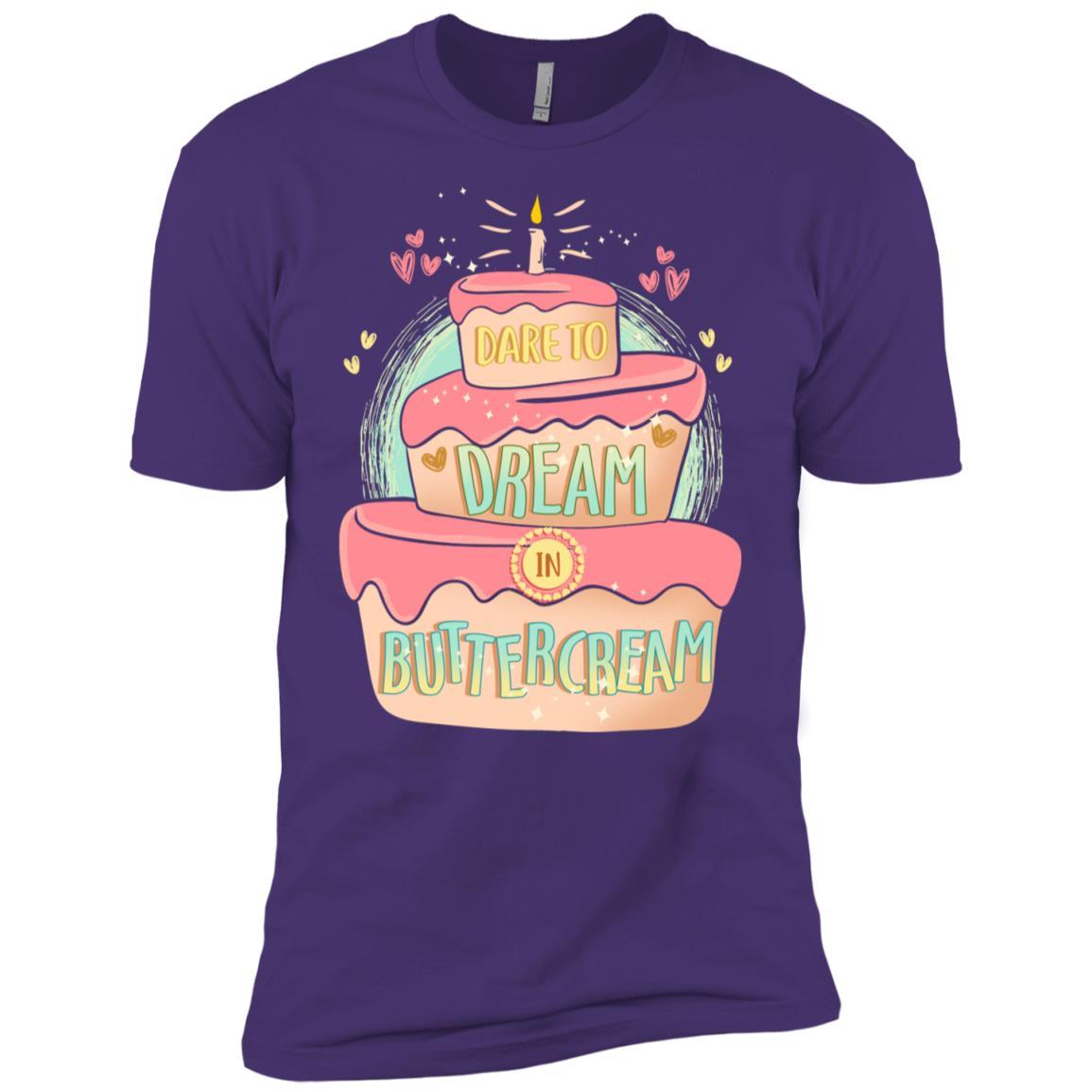 Buttercream Cake Decorator Pastry Chef Men Short Sleeve T-Shirt