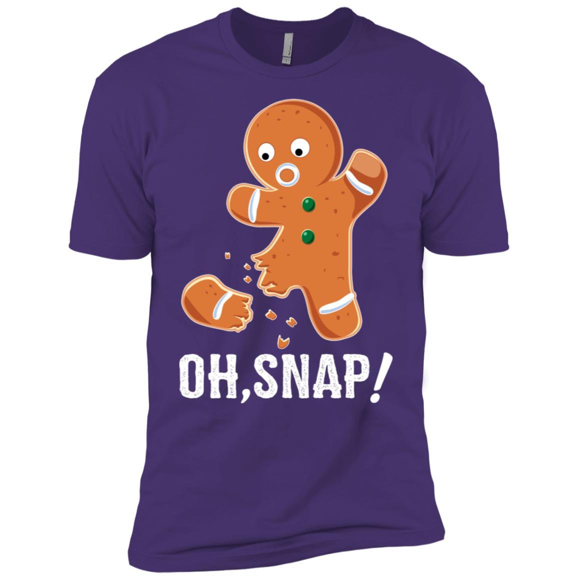 Funny Gingerbread Cookie Baking Humor Men Short Sleeve T-Shirt