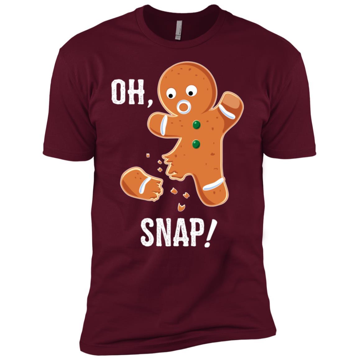 Funny Gingerbread Christmas Baking Humor-1 Men Short Sleeve T-Shirt