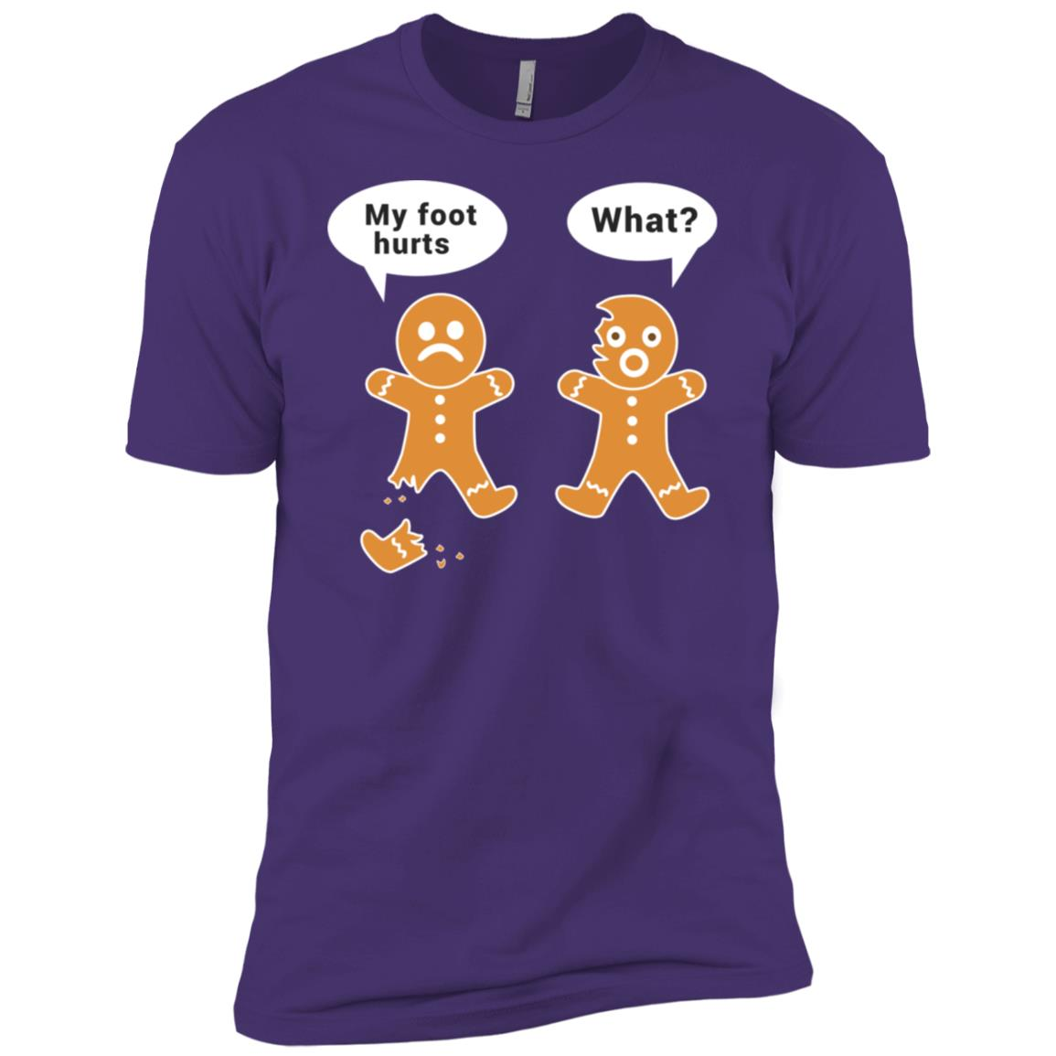 Funny Gingerbread Christmas Baking Humor Men Short Sleeve T-Shirt