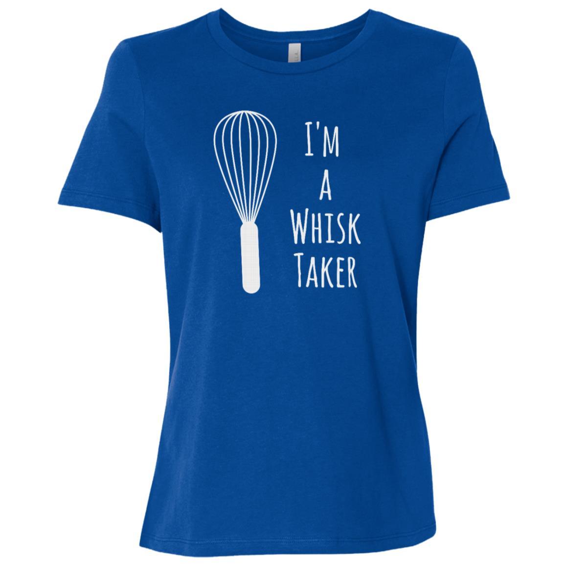 Funny Cooking Pun I'm Whisk Taker Baker Chef Tee Gift Women Short Sleeve T-Shirt