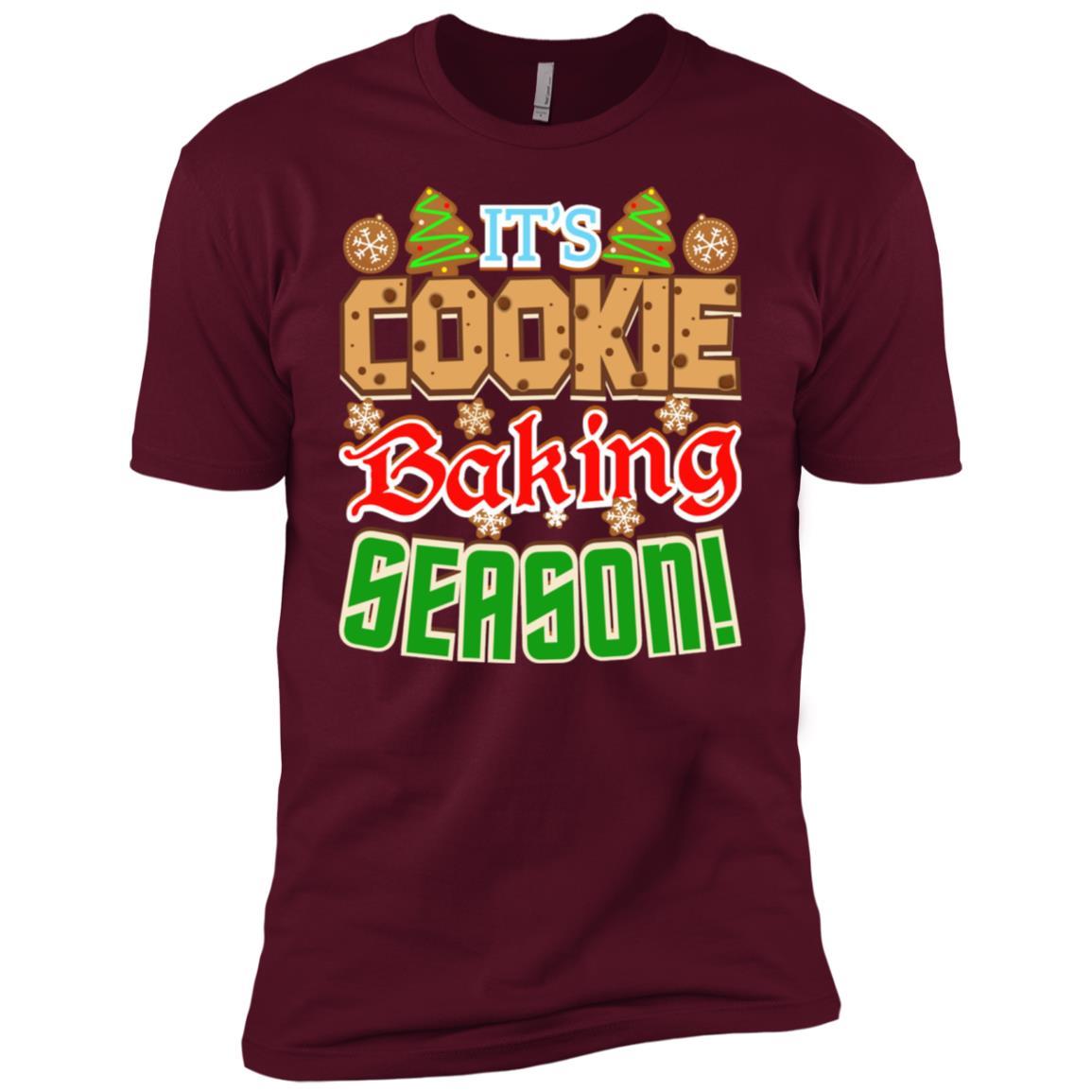 Gingerbread Team Christmas Cookie Baking Men Short Sleeve T-Shirt
