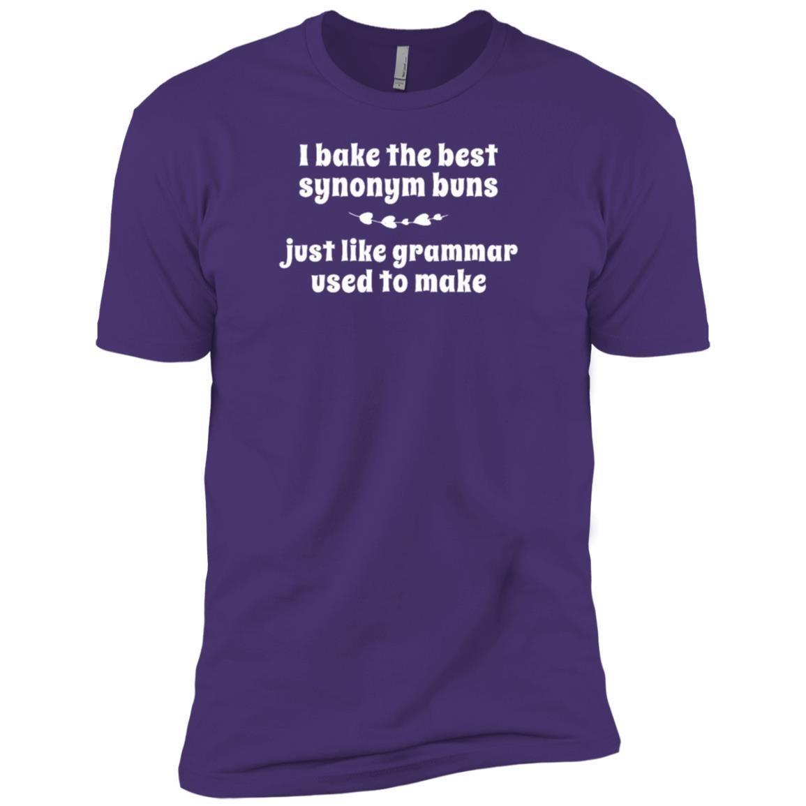 funny pun Baking Grammar clever tee Men Short Sleeve T-Shirt