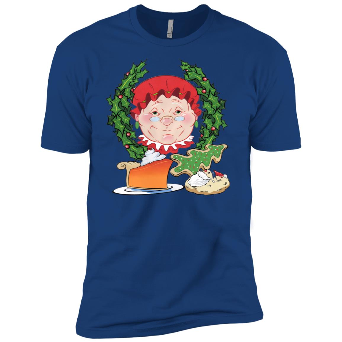 Mrs. Claus Baking Men Short Sleeve T-Shirt