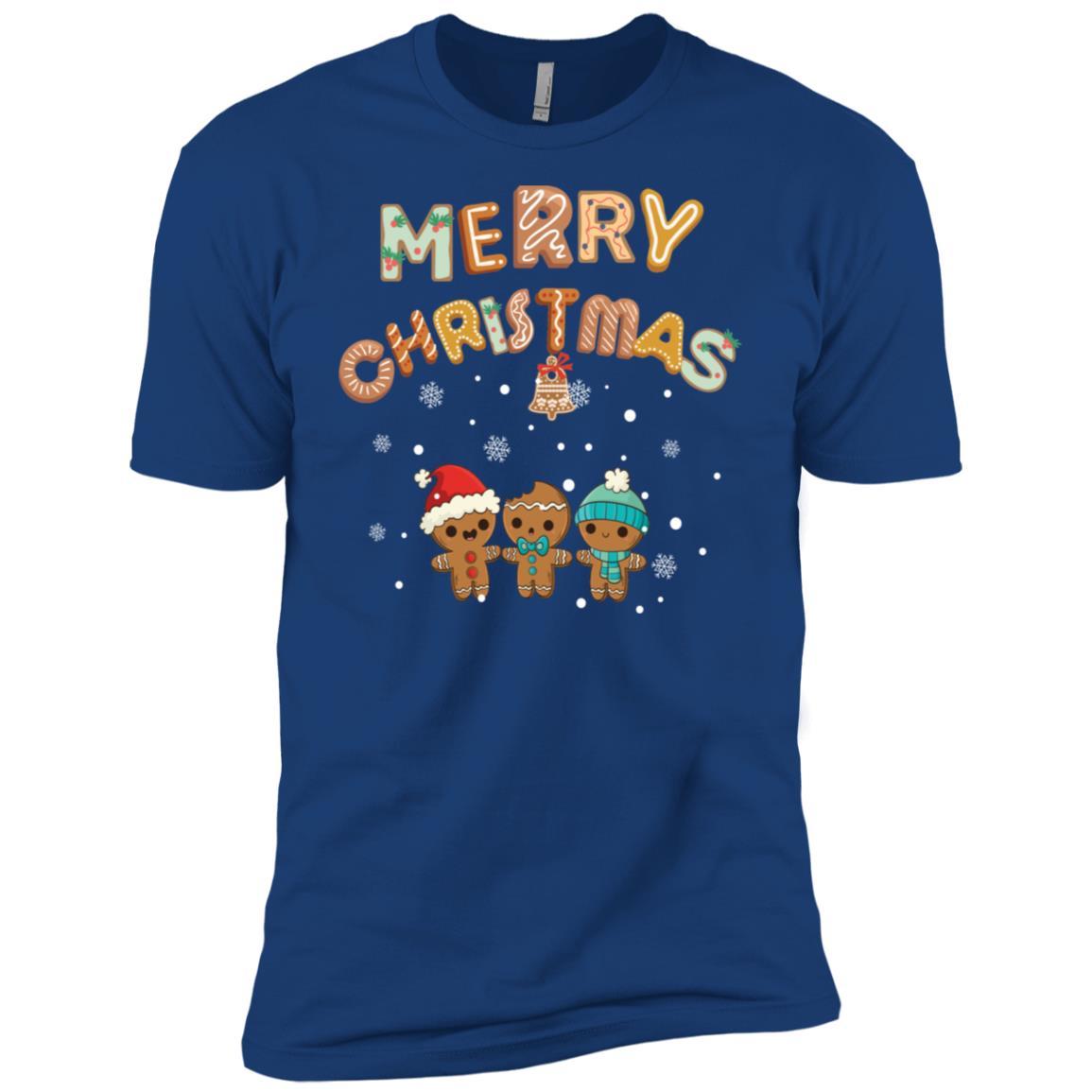 Merry Christmas Happy Family Xmas Tee Gift Men Short Sleeve T-Shirt