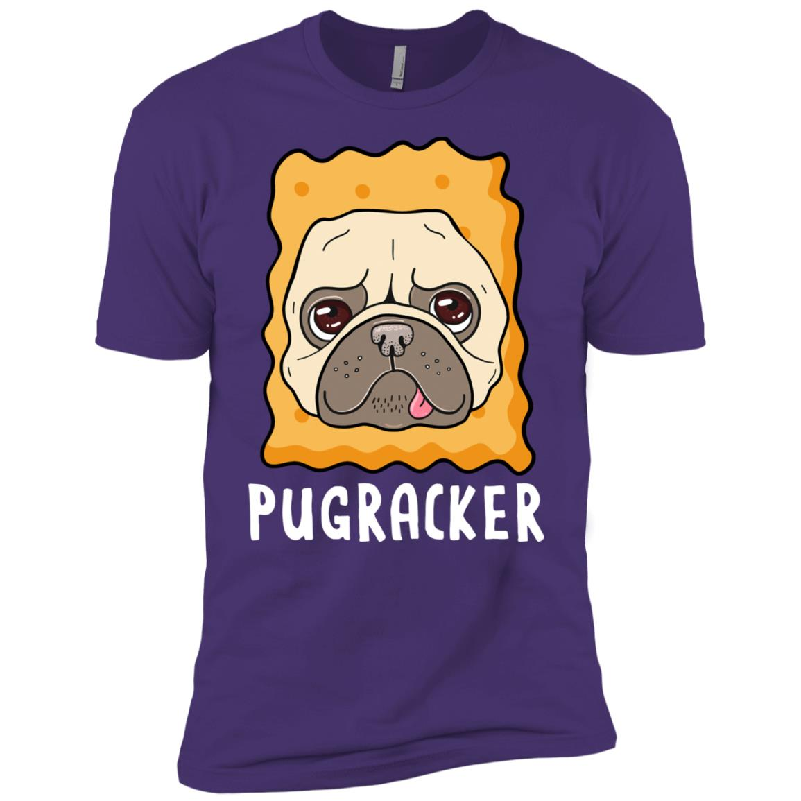 Pugracker Pug Cracker Costume Men Short Sleeve T-Shirt