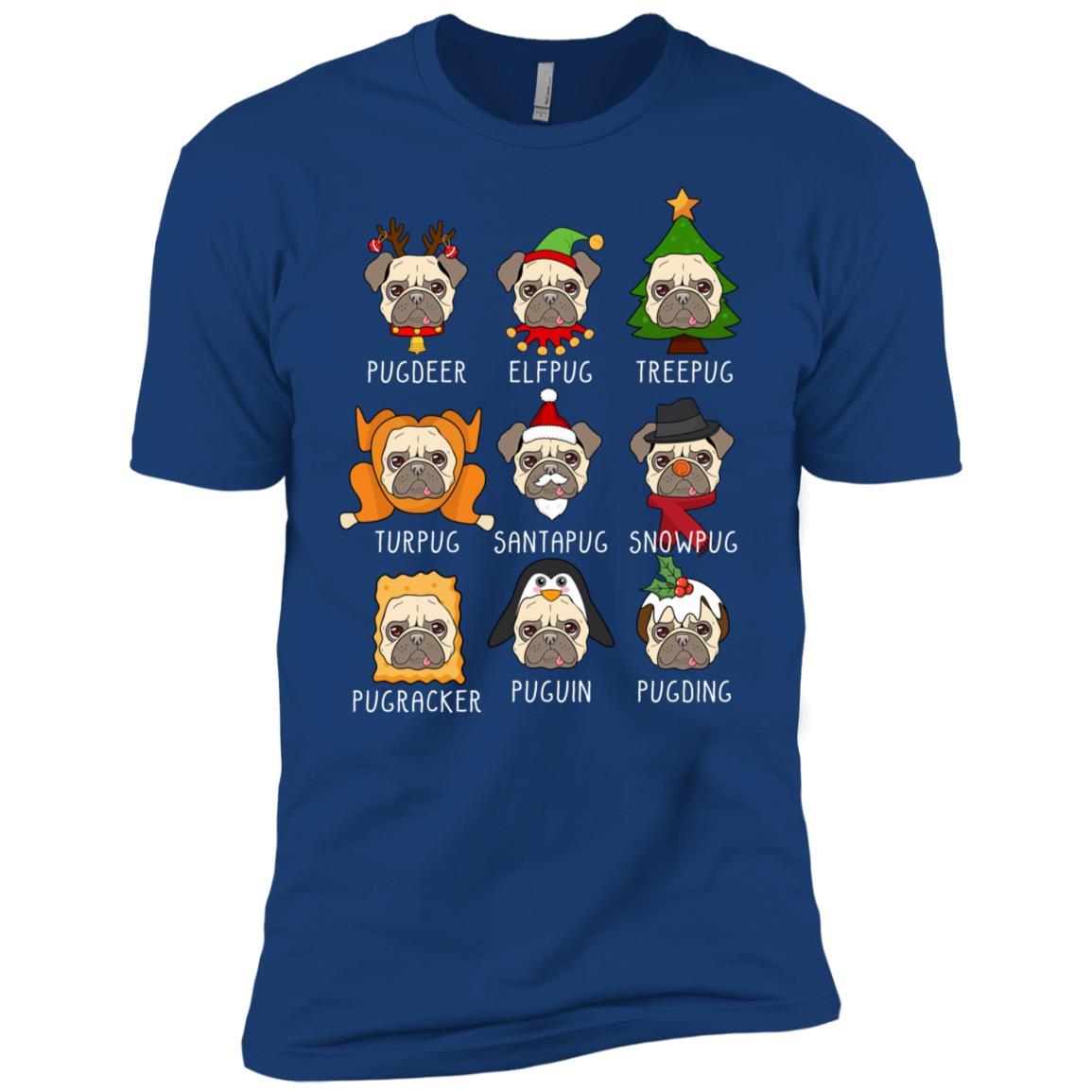 Pug Costume Collection Men Short Sleeve T-Shirt