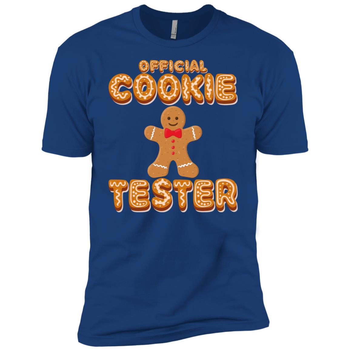 Official Christmas Cookie Tester Gingerbread Man Ls Men Short Sleeve T-Shirt