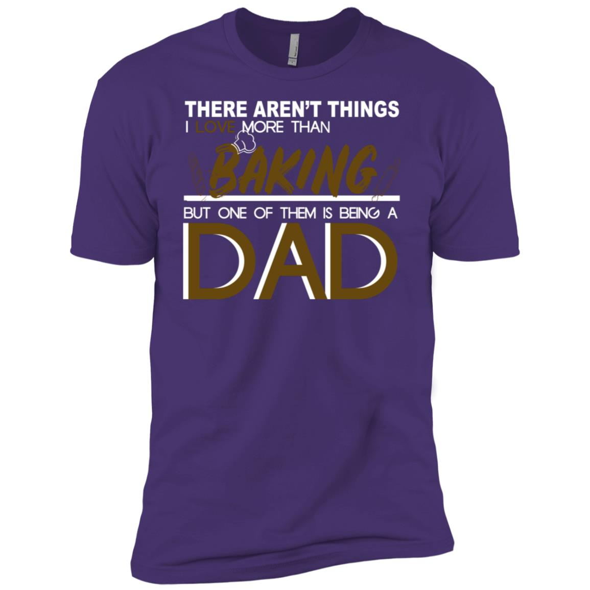 Cool Baking-Dad Bakers Chef Dad Gift Men Short Sleeve T-Shirt