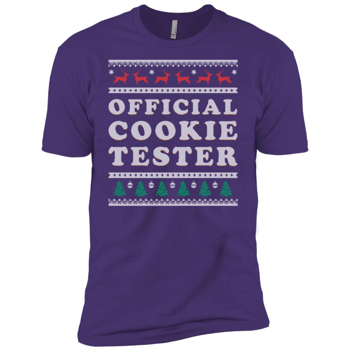 Cookie Tester Ugly Christmas Xmas Gift Men Short Sleeve T-Shirt