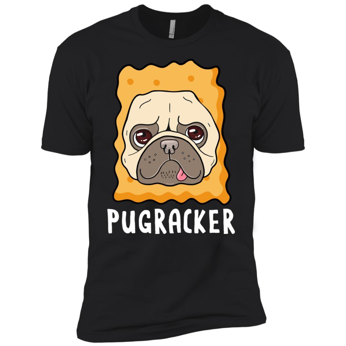 Pugracker Pug Cracker Costume Men Short Sleeve T-Shirt