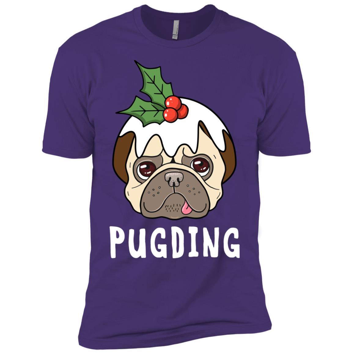 Pugding Pug Pudding Costume Men Short Sleeve T-Shirt