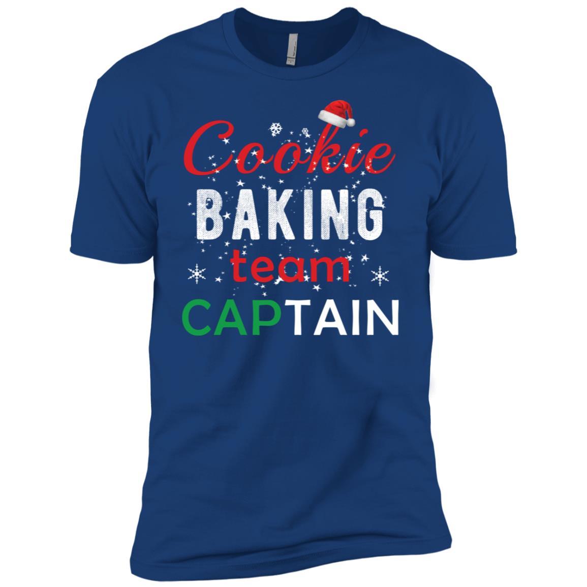 Cookie Baking Team Captain Christams 2018 Gift Funny Men Short Sleeve T-Shirt
