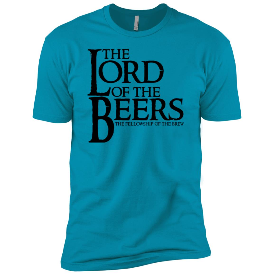 The Lord of the Beers Men Short Sleeve T-Shirt