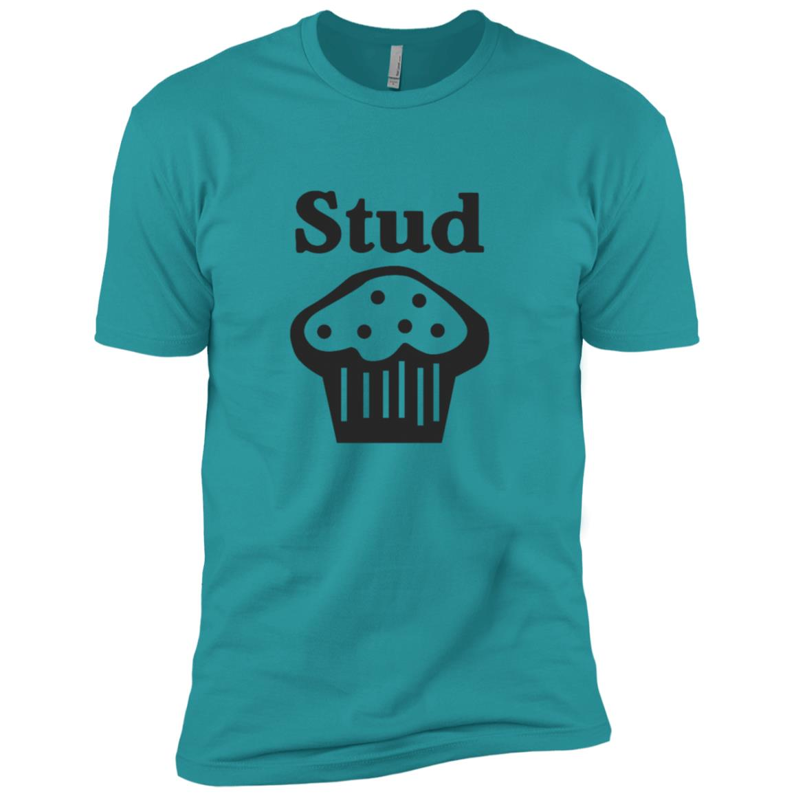 Funny Stud Muffin Baking Men Short Sleeve T-Shirt