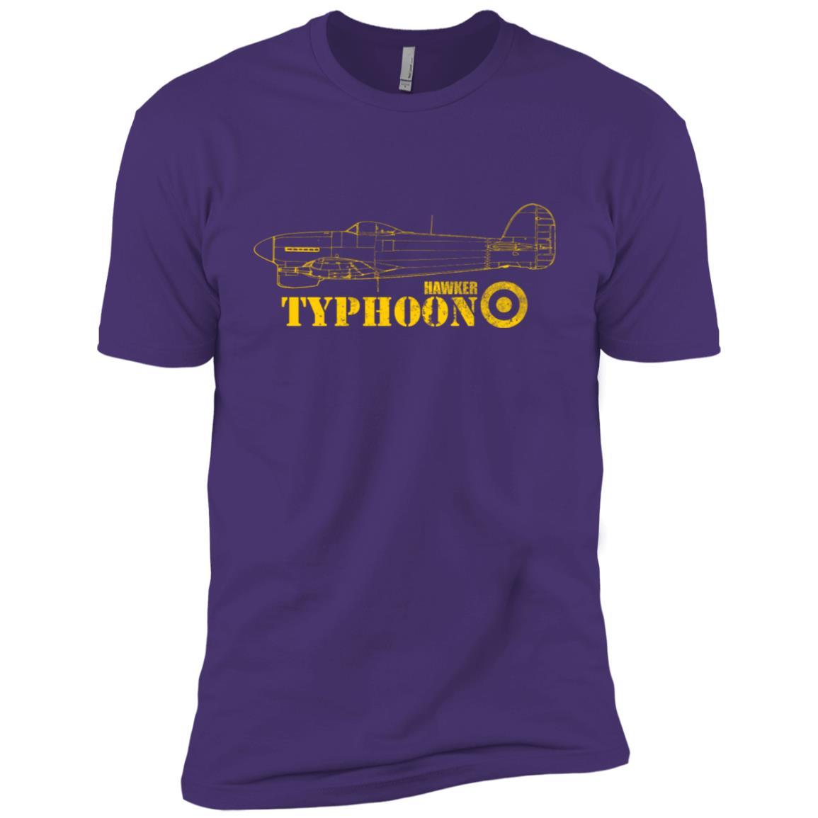Raf Typhoon (distressed) Men Short Sleeve T-Shirt
