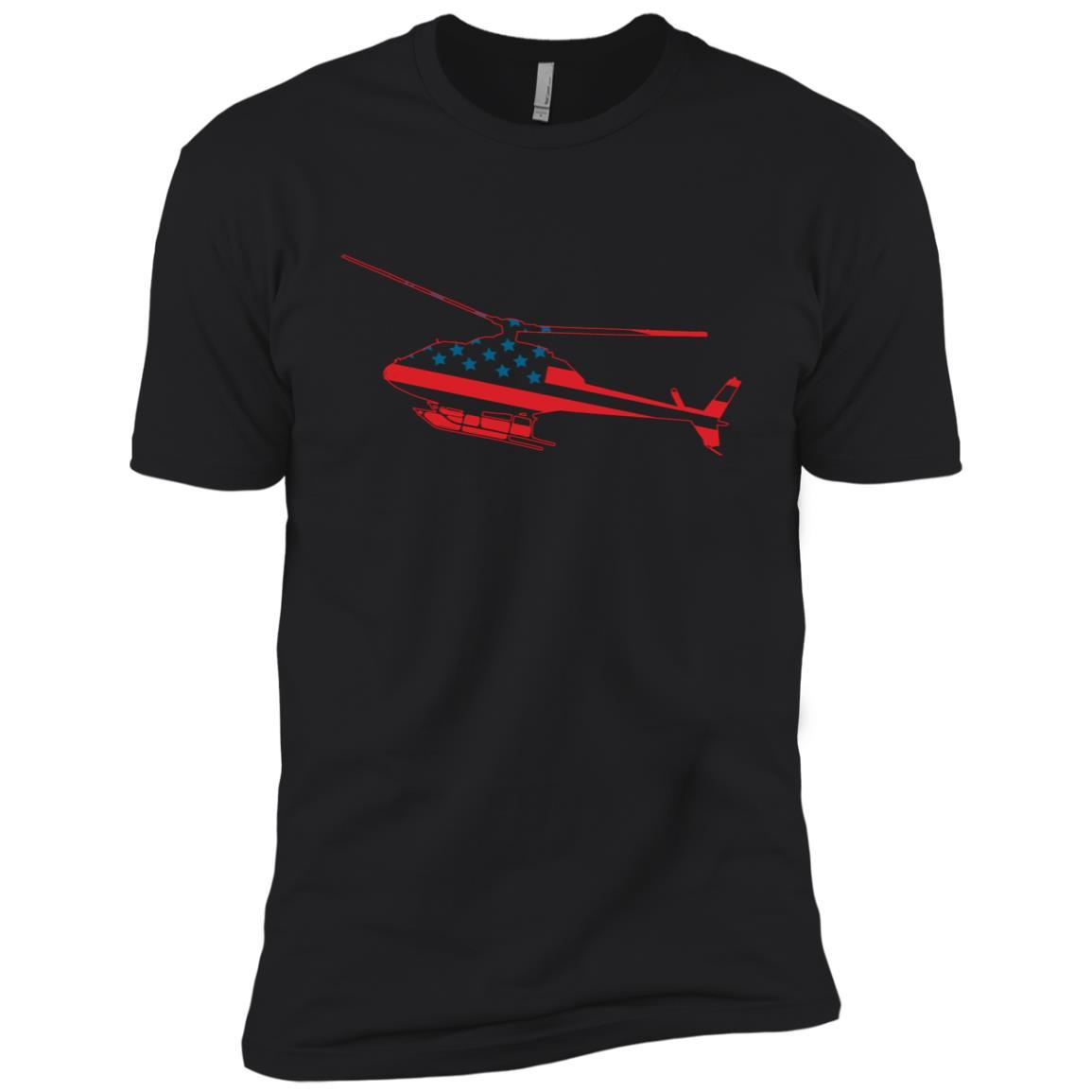Air Force Helicopter Pilot Men Short Sleeve T-Shirt