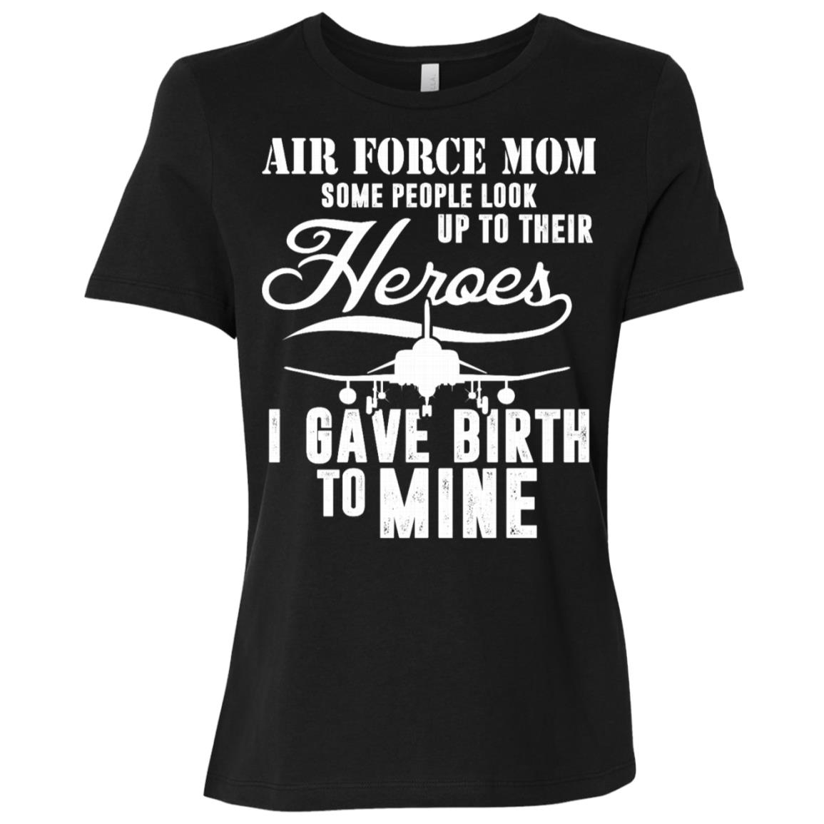 For Air Force Moms and tee Women Short Sleeve T-Shirt