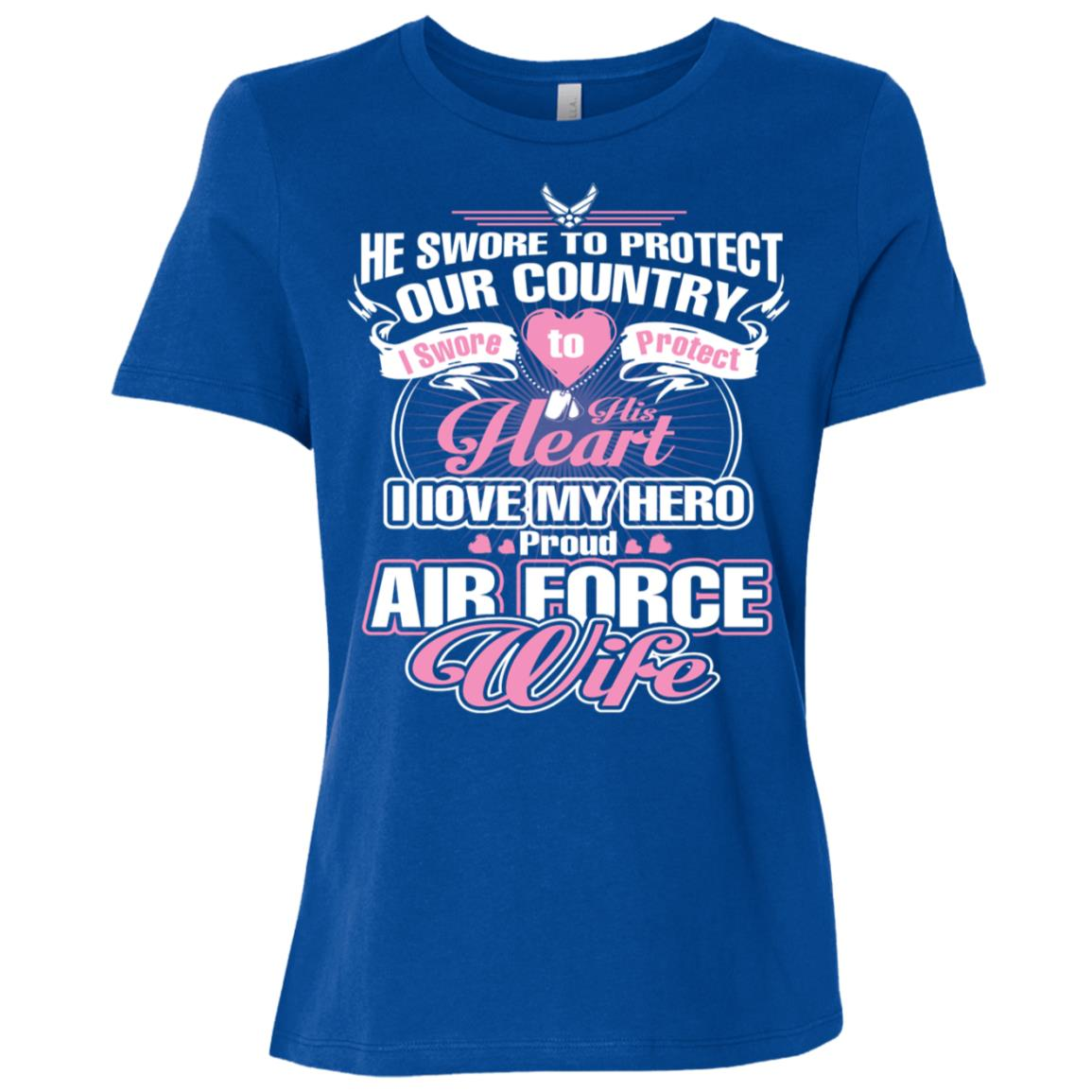 Air Force Wife! -Tee and tee Women Short Sleeve T-Shirt