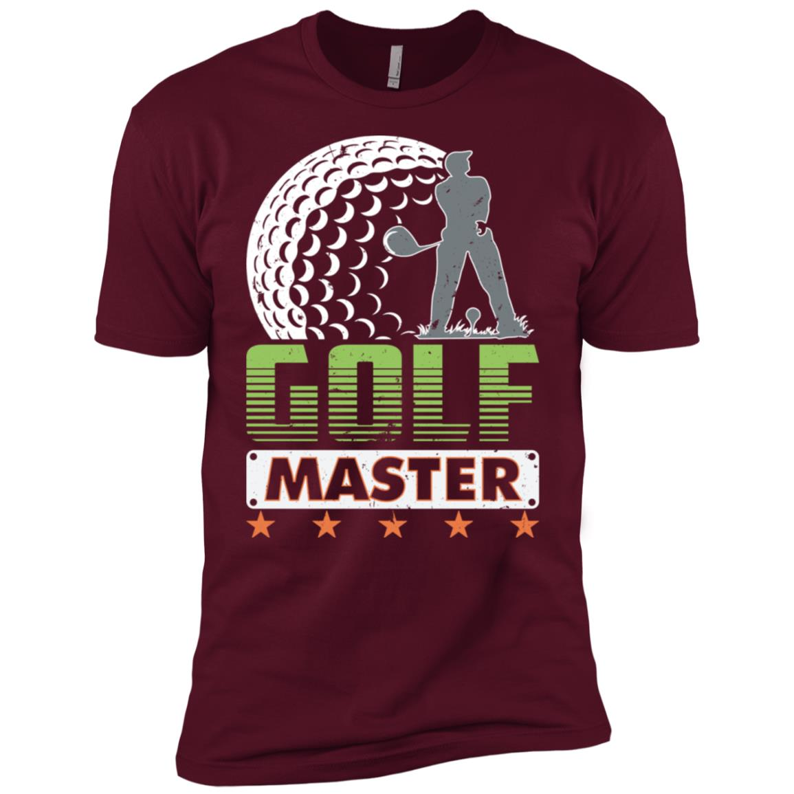 Golf Master Men Short Sleeve T-Shirt