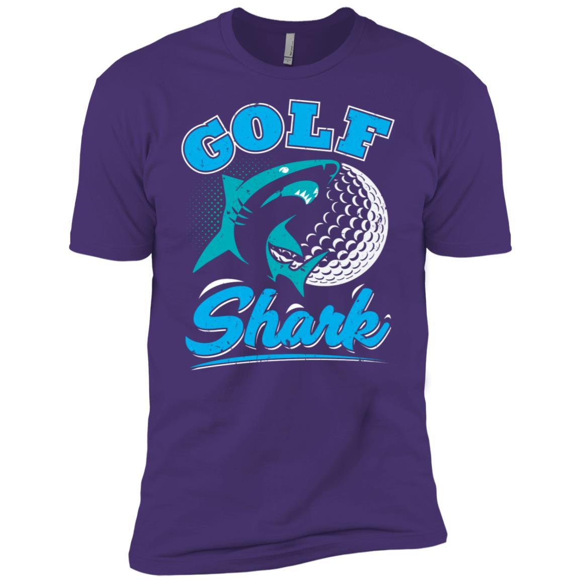 Golf Shark Men Short Sleeve T-Shirt