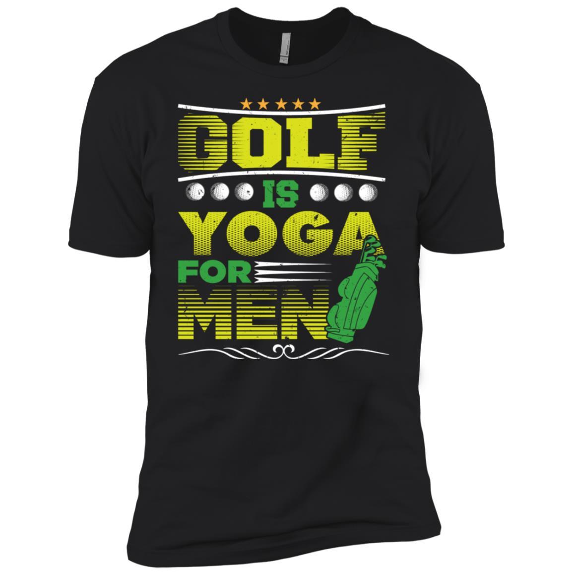 Golf Is Yoga For Men Men Short Sleeve T-Shirt
