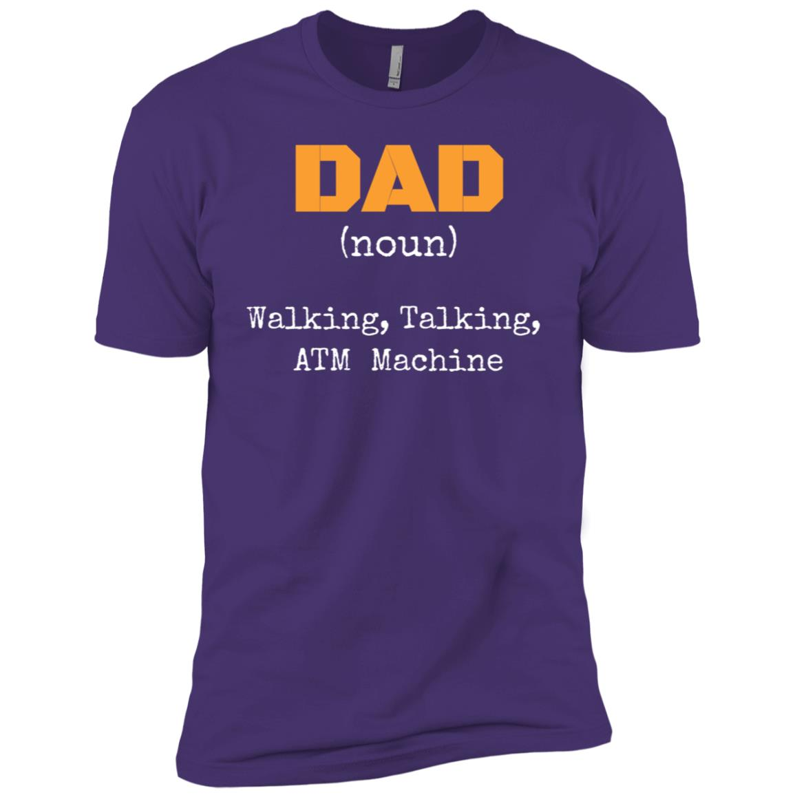 Dad Definition Tee Joke for Dad from Son or Daughter Men Short Sleeve T-Shirt