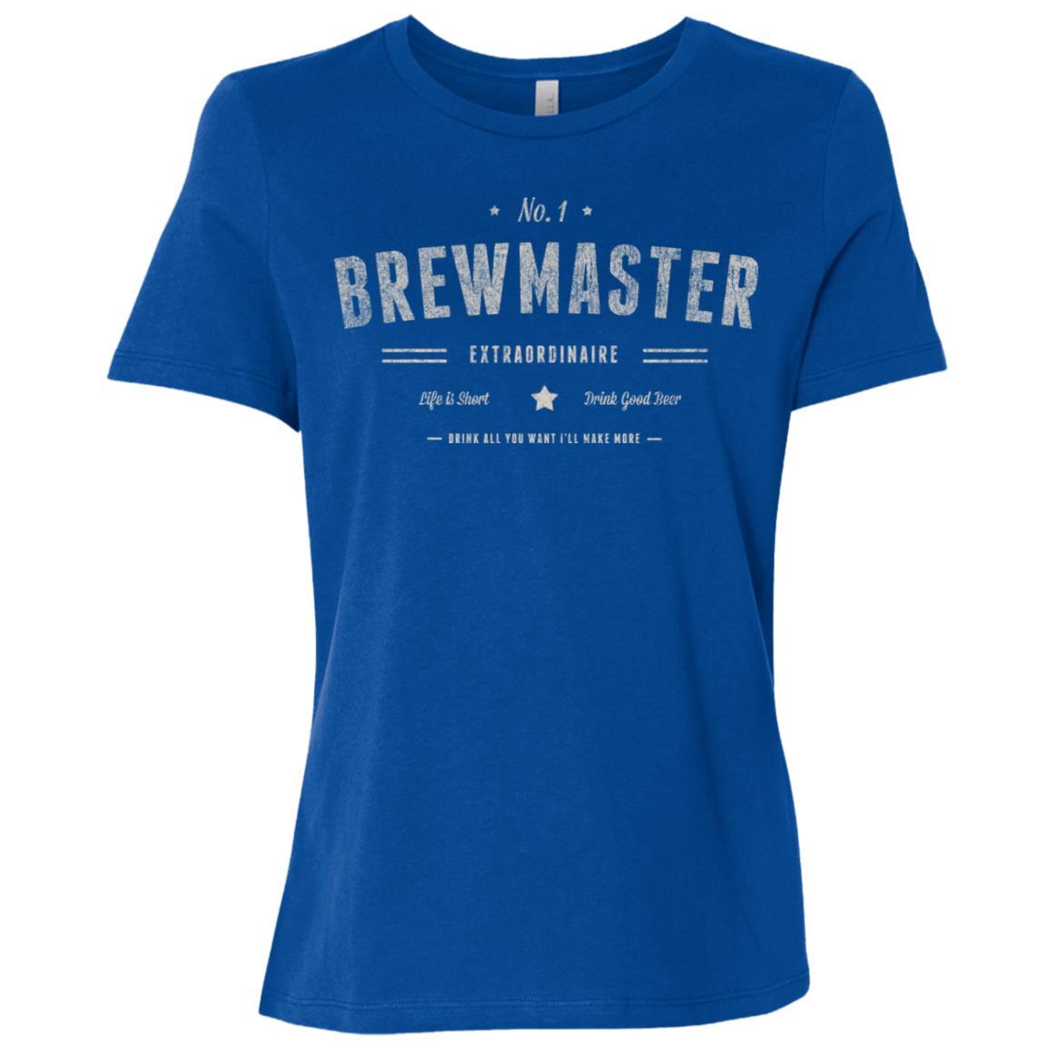 Brewmaster Extraordinaire Beer Brewer Women Short Sleeve T-Shirt