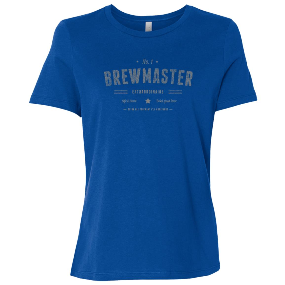 Brewmaster Extraordinaire Beer Brewing Women Short Sleeve T-Shirt