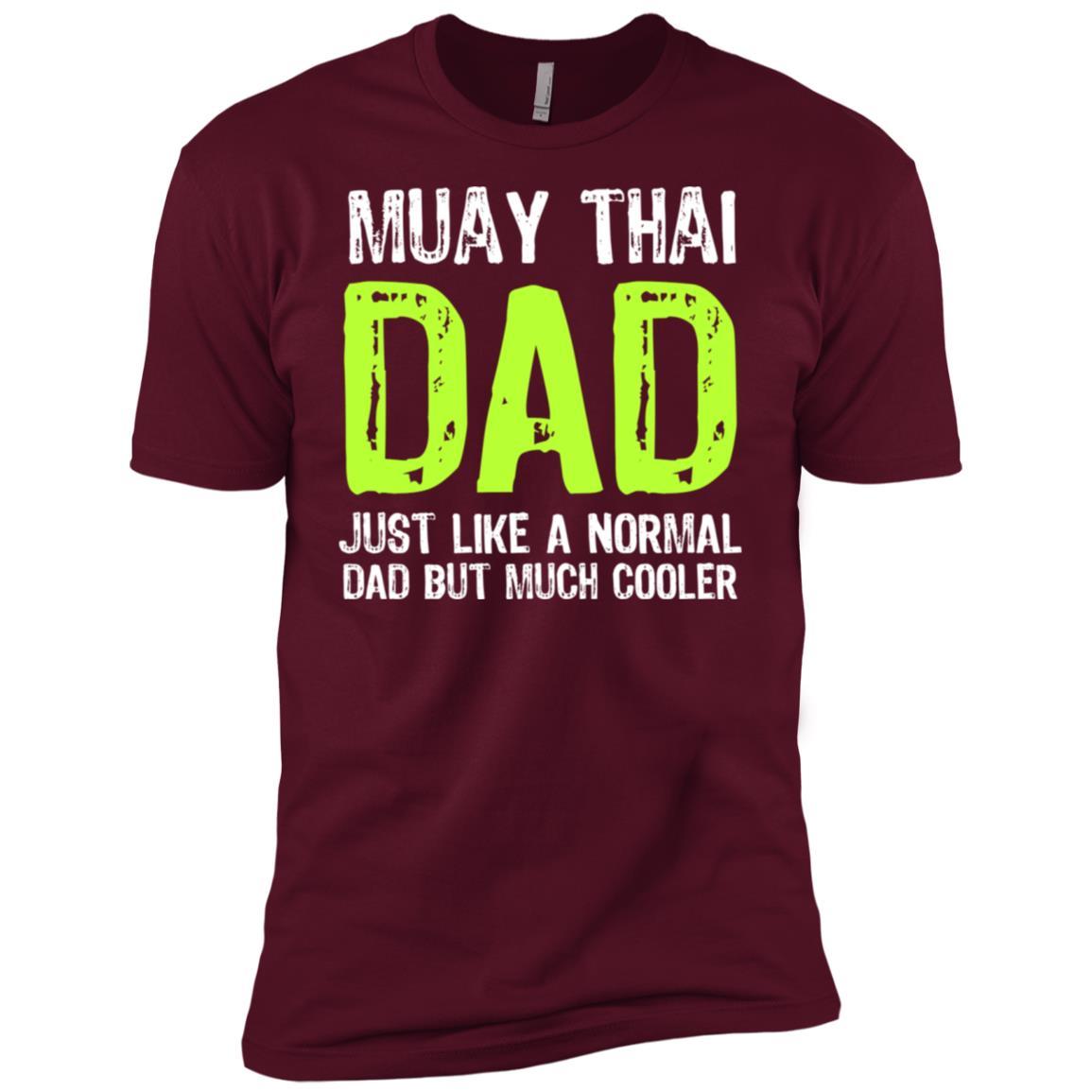 Muay Thai Dad But Much Cooler Hobbyist -1 Men Short Sleeve T-Shirt