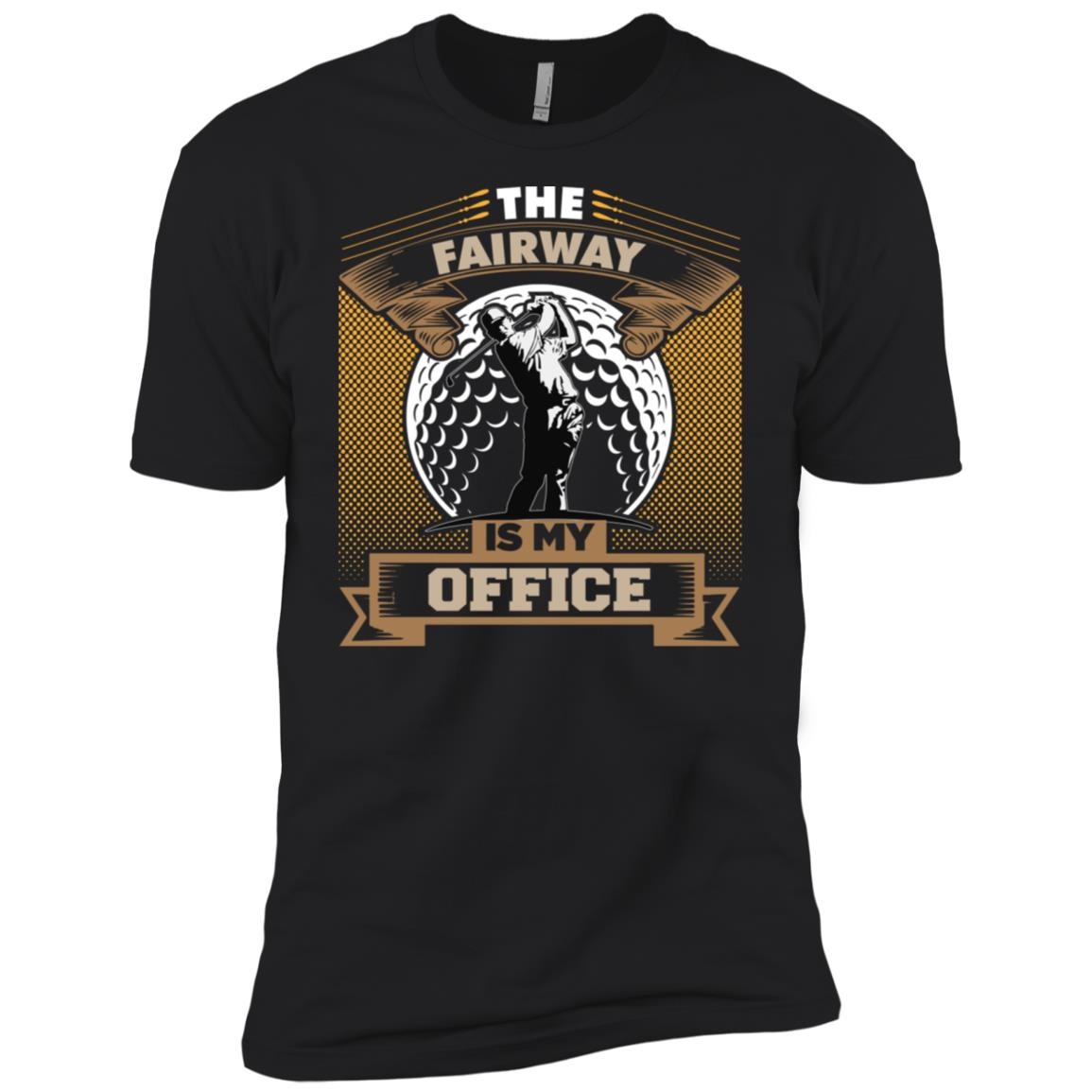 The Fairway Is My Office Men Short Sleeve T-Shirt