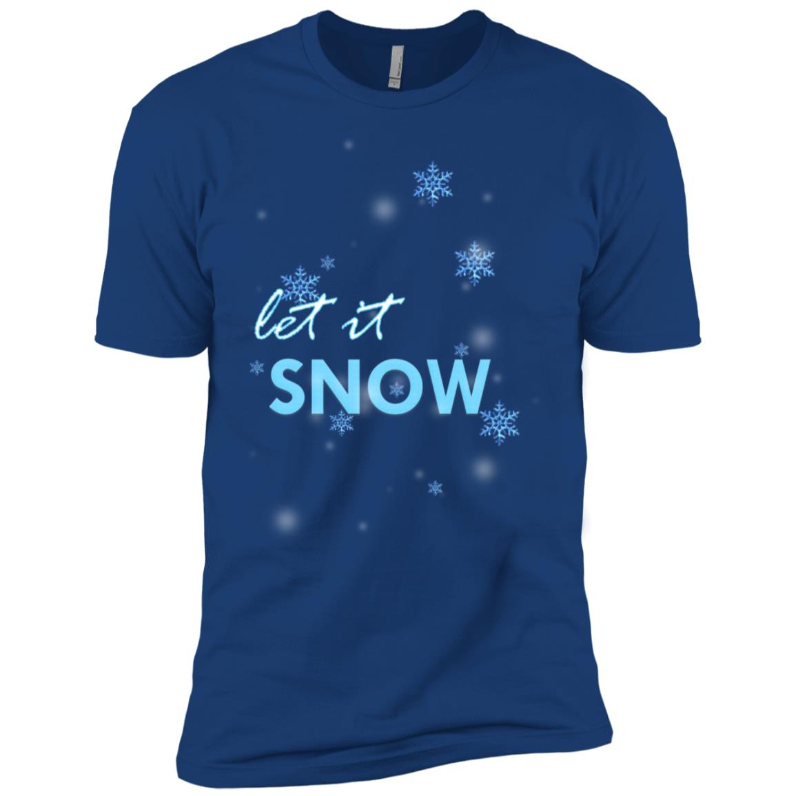 Let it Snow Men Short Sleeve T-Shirt