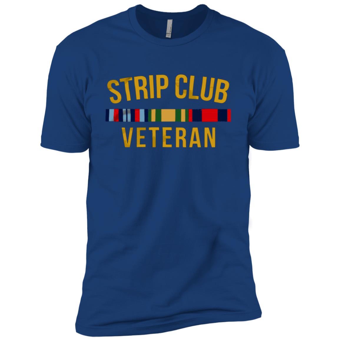 Strip Club Veteran Men Short Sleeve T-Shirt