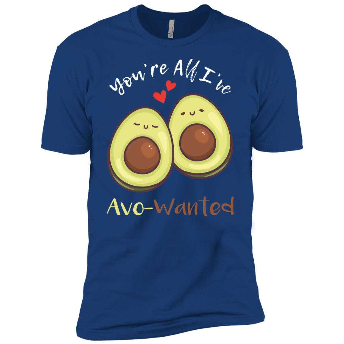 You're All I've Avo-Wanted Avocado Pun Cute Gift Men Short Sleeve T-Shirt