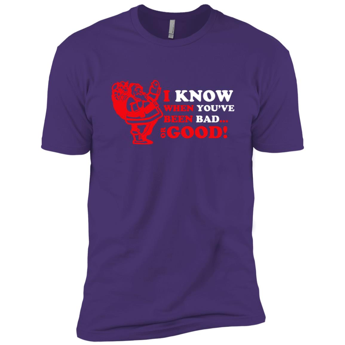 I know when you ve been bad or good s Men Short Sleeve T-Shirt