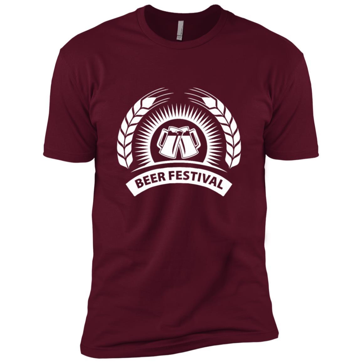 Beer Festival Fan Funny Alcohol Drink Lover Gift Men Short Sleeve T-Shirt