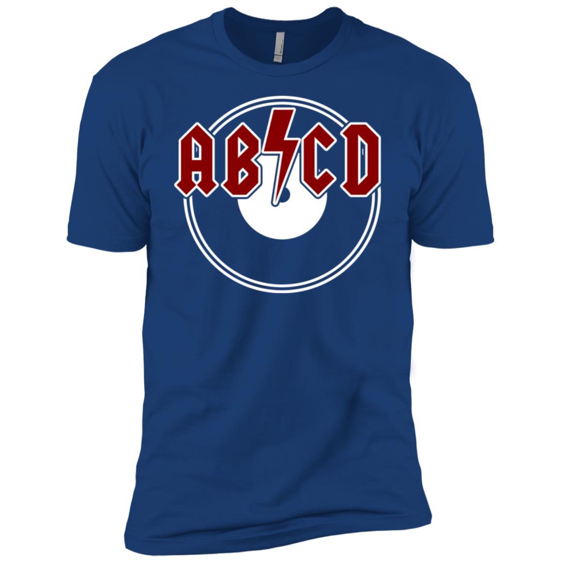 ABCDs Funny Rock n Roll Kids Toddler Men Short Sleeve T-Shirt