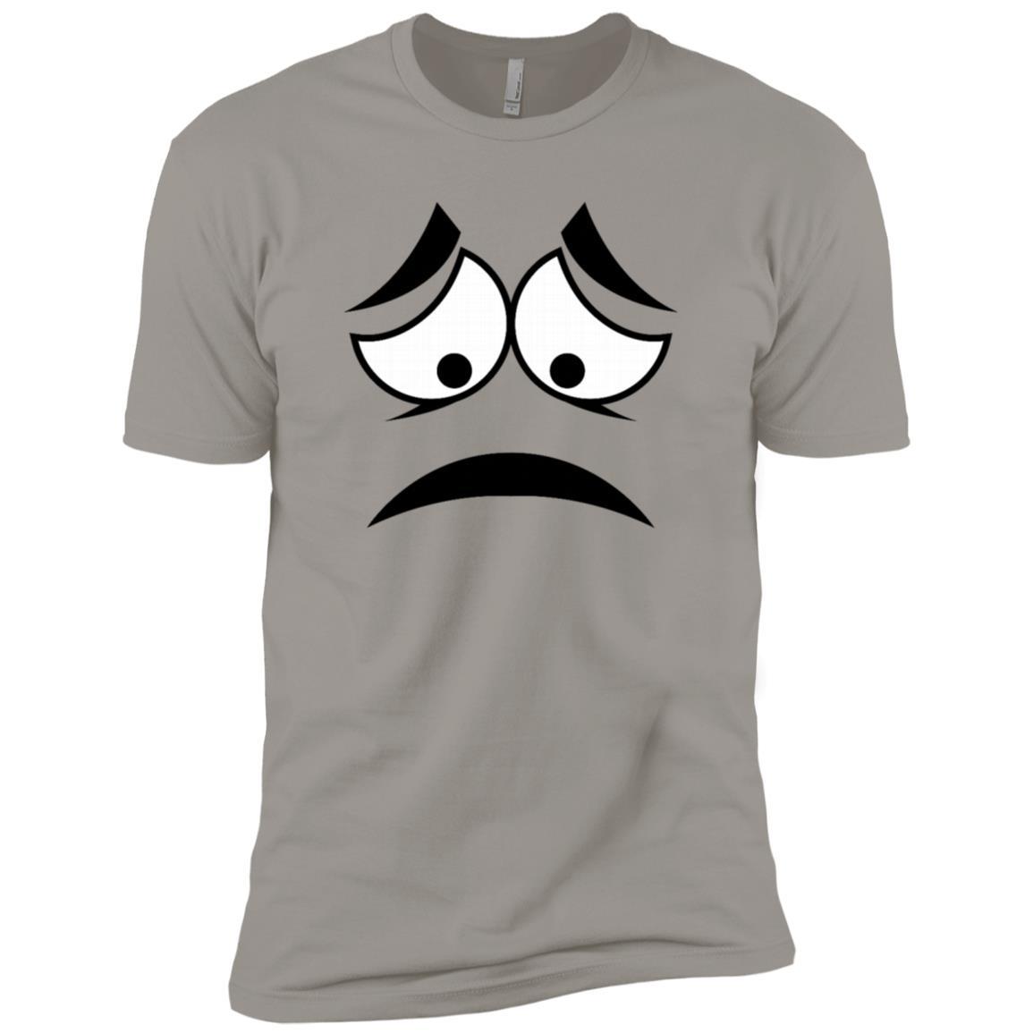 Sad Face Funny Men Short Sleeve T-Shirt